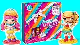 Пати поп тинис -хлопушка с куклой и конфетти. Распаковка Пати поп тинис. Party Pop Teenies Surprise
