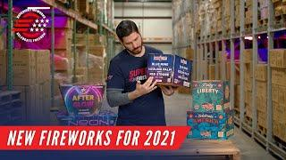 New for 2021 from SFX and Great American Fireworks Co.