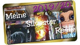 Meine Feuerwerks-Reste 2019/20 - Reste für Silvester I The Hawk Fireworks