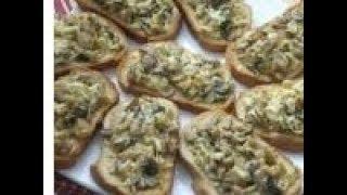 Грибные бутерброды и фейерверк, редкостный! ---- Mushroom sandwiches and fireworks, rare!