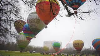 Фестиваль воздушных шаров Монгольфьерия на ВДНГ