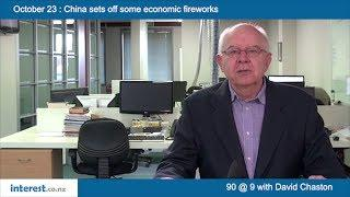 90 seconds @ 9am : China sets off some economic fireworks