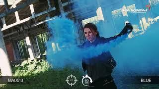 МА0513 Blue Цветной дым густой Синий 60 секунд
