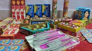 Diwali Stash 2019 | New Types of Fireworks | Fresh New Crackers Stash