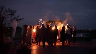 Фейерверк и бенгальские свечи на свадьбу 40000