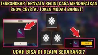 Udah Bisa Di Klaim Sekarang! Cara Mendapatkan Snow Crystal Token Di Event Terbaru Free Fire