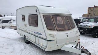 Обзор прицеп дача ,караван,дом на колёсах . Abbey Freestyle 470 SE . Трёх местный.