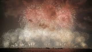 シーサイドももち花火ファンタジアFUKUOKA2019 雷との共演 Co-starring fireworks and lightning