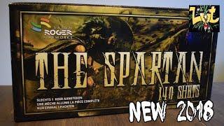 The Spartan 140 shots Compound Vuurwerk cake Salon Roger Fireworks NIEUW 2018!