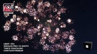 Twice Crackling Chrysanthemum Shogun Fireworks (Coming in 2019) | Red Apple Fireworks