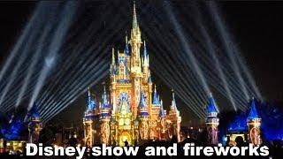 Celebrate The Magic fireworks Show at Walt Disney World Magic Kingdom