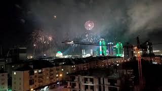 салюты в Грозном