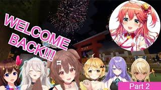 Korone Fireworks Festival for Miko, Part 2: There and Bark Again- A Doggo's Tail [Eng Sub/Hololive]