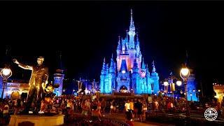Magic Kingdom Night Walkthrough w/ Fireworks in 4K | Walt Disney World Orlando Florida July 2021