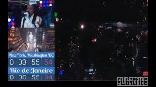 2019 Times Square Ball Drop Live   Time Square NYC Fireworks New Year 2019 in Dubai Burj Khalifa