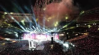 190518 BTS AT METLIFE - ENDING & FIREWORKS (Fancam)