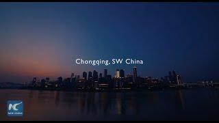 Forget fireworks! Dazzling drone light show in Chongqing, China