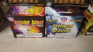 Fireworks Demo (500 Gram Cakes) - Power 15 Assortment: Ozone Blast/Critical Gravity (AFW)