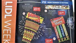 Lidl Fireworks 2020