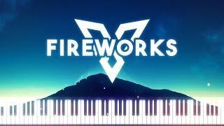 Synthesia [Piano Tutorial] Vexento - Fireworks