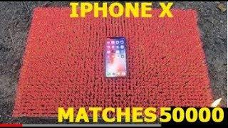 IPHONE X OVER 50 000 MATCHES! Amazing Experiment