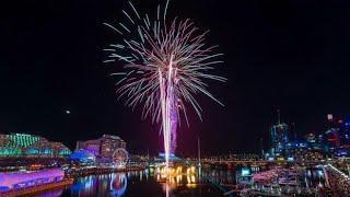 Darling Harbour Fireworks- Vivid Sydney 2019