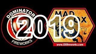 American Fireworks 2019 Demo: Part 2 - Dominator Fireworks & Mad Ox Fireworks (500 Gram Cakes)