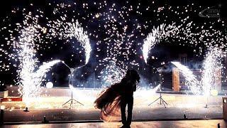 Наземное фейерверк-шоу