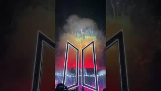 MIKROKOSMOS 소우주 with BTS Logo and Fireworks @ SPEAK YOURSELF TOUR Rose Bowl in LA D1 Fancam