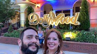 Dollywood's Fireworks And The Wildwood Grove Tree After Dark!!!