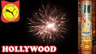 Hollywood from Sony Fireworks - Large Aerial Skyshot Shell