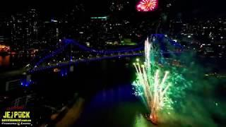 Jetpack Entertainment & events - MEA Evolve 2019 - brisbane fireworks
