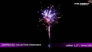 Салют GWM6102 COLLECTION FIREWORKS Maxsem купить в Минске | Firedragon.by