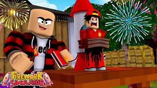 ROBLOX - *NEW* FIREWORKS SIMULATOR!!