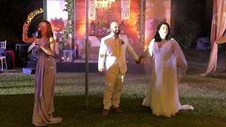 LOTLOT & FADI Wedding RECEPTION! First DANCE + Fireworks, CAKE Ceremony, CHAMPAGNE Toast!