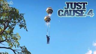 Just Cause 4 - В Тылу. Шарики, фейерверки, салюты. Да это праздник какой-то! Серия 2