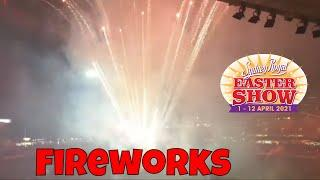 Sydney Royal Easter Show 2021 Fireworks