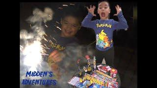 Fireworks, Piñata and lots of fun -New Year 2019