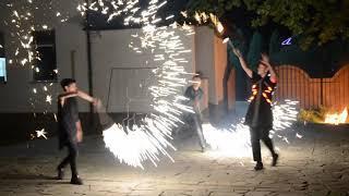 Огненное пиротехническое шоу Саратов