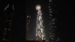 Full fireworks 2019 newyear in burj khalifa xxx