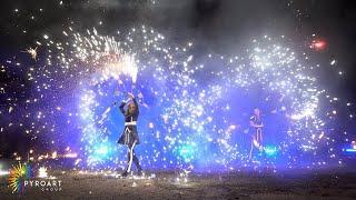 Огненно-пиротехническое шоу от Pyroart Group