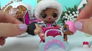 Куклы Лол сюрприз и подарки от Деда Мороза интересные мультики для девочек