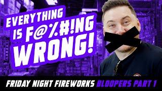 Friday Night Fireworks Bloopers Pt 1 | Red Apple Fireworks