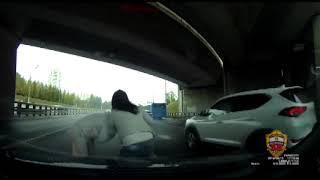 Конфликт на дороге закончился выстрелом из ракетницы
