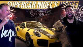 SuperCar Nigel's Super House and Super Fireworks!