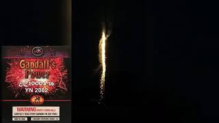 Enigma Fireworks: Gandalf's Power 200g Mold DEMO