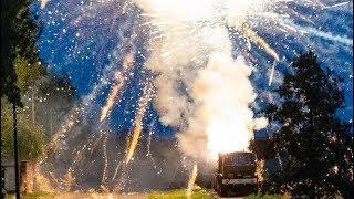 Взрыв салюта Минск, Смертельный салют в Минске ПОГИБЛА женщина