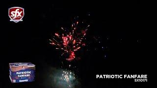 Patriotic Fanfare, a 350-Gram Repeater by SFX Fireworks   Superior Fireworks