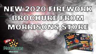 Morrisons Supermarket 2020 Direct Fireworks Leaflet!