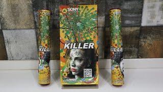 SONY FIREWORKS KILLER SKYSHOT TESTING||Diwali crackers testing 2020||TESTING DIWALI STASH 2020
